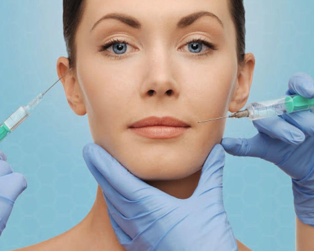 imagen de correccion de arrugas clinica renacimiento madrid y marbella estetica facial